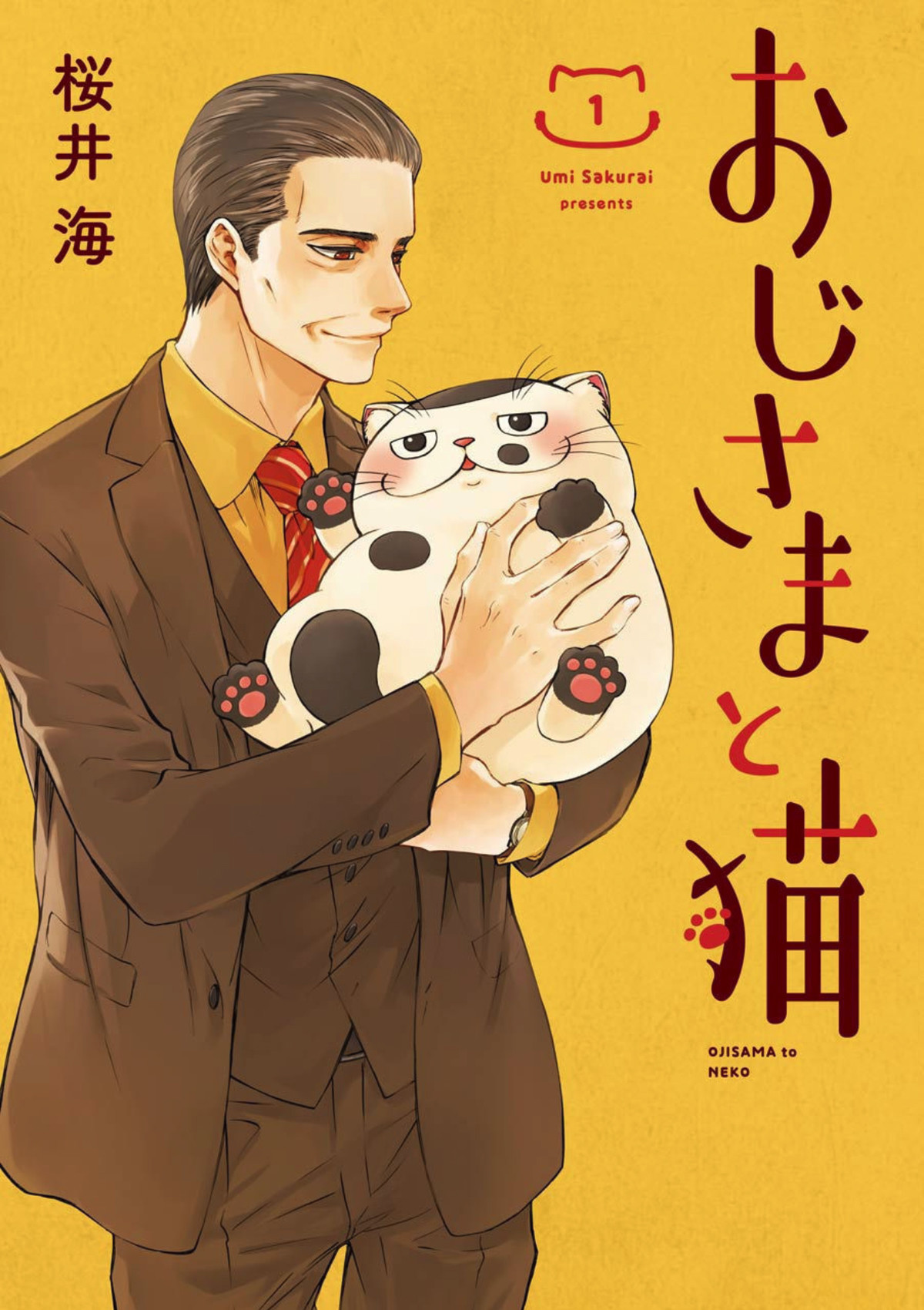 Ojisama to Neko ch 1 - 8. .. While this is adorable, I can't help but feel that the poor guy adopted a cat that looks kinda like Adolf Hitler.