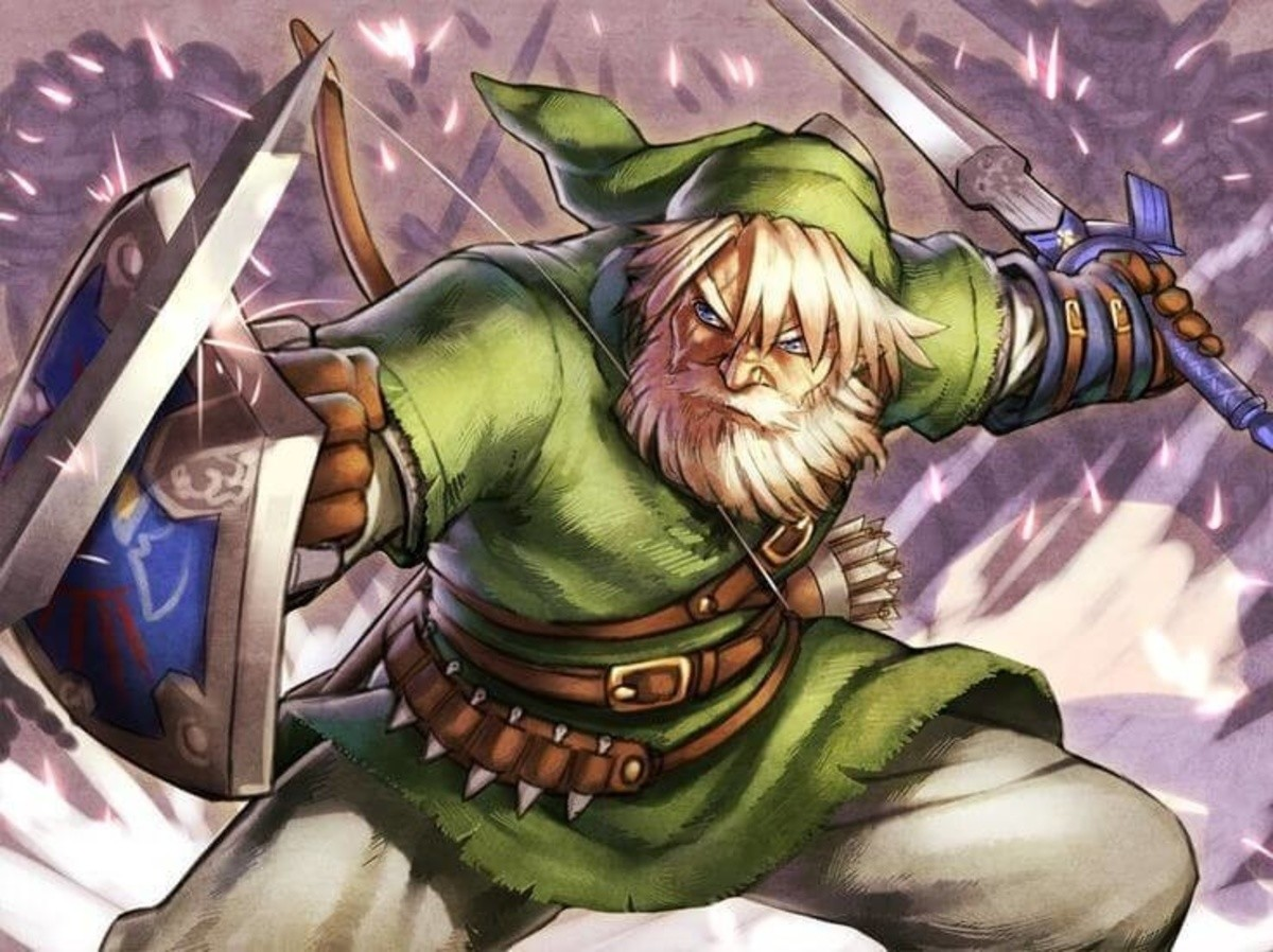 Old man Link game when?. .. There already