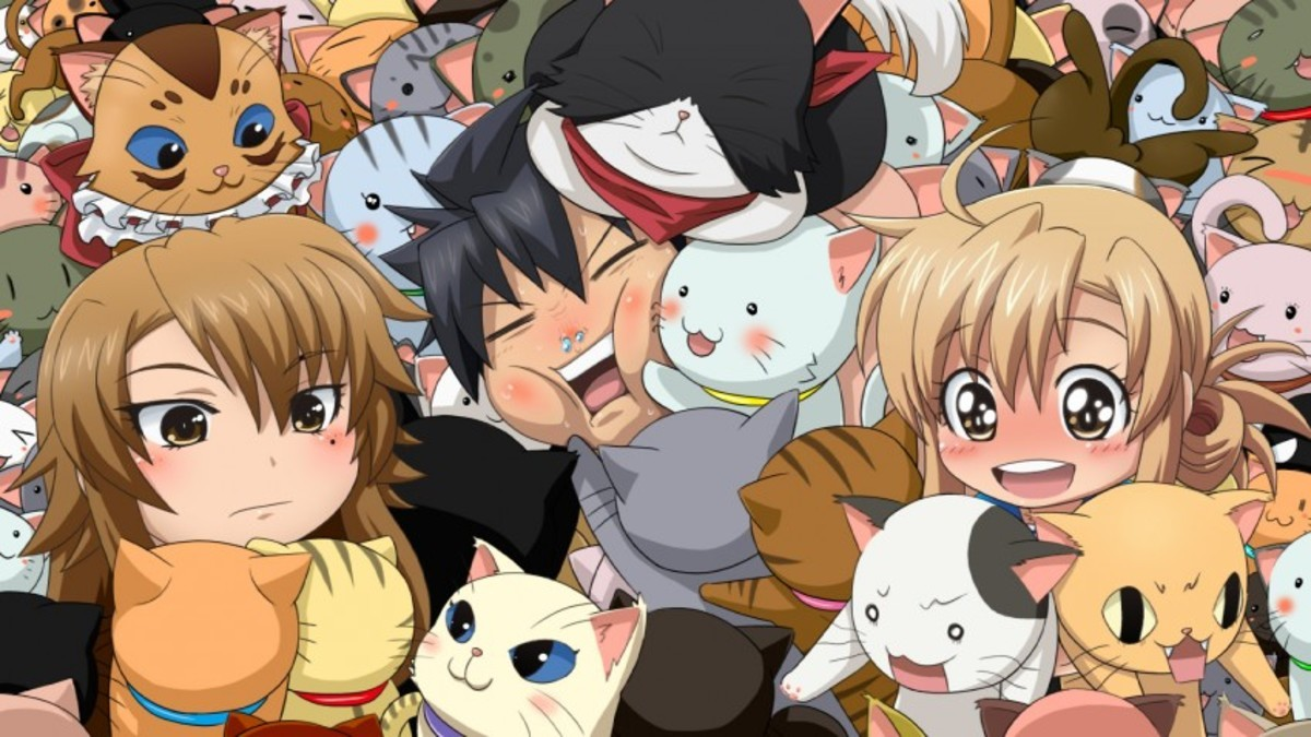 One of My Fave Anime. It's got tomboys,it's got boobs,it's got nekos,and cute and funny? join list: Lewds4DHeart (1597 subs)Mention History join list:. Nyan Koi? Season 2 never