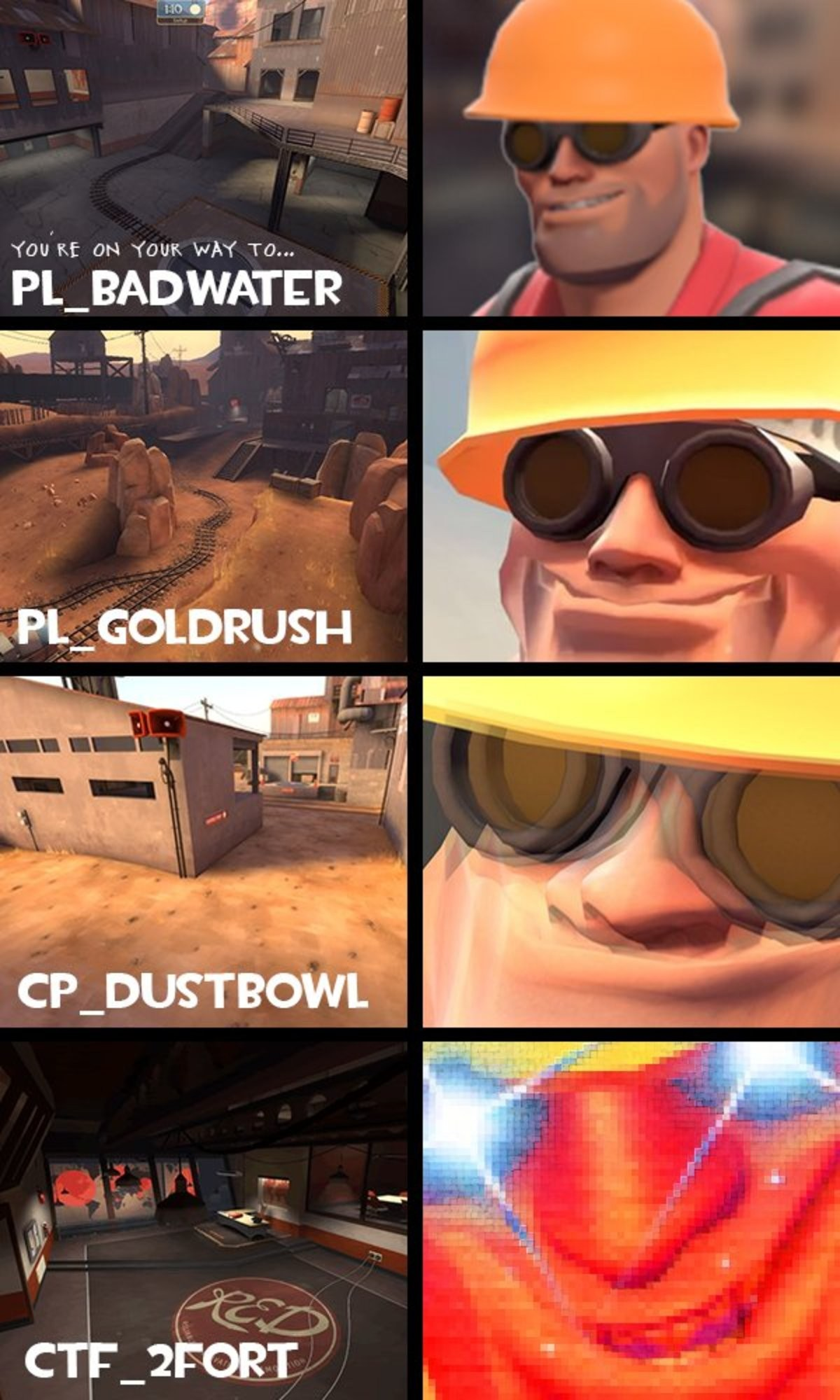Only REAL men will understand. . PL_ BADWATER A' =. There are 3 things I fondly remember from back when I played TF2 in ctf_2fort plr_hightower and that spooky-ass cp_mann_mansion I tried getting back into tf2 la