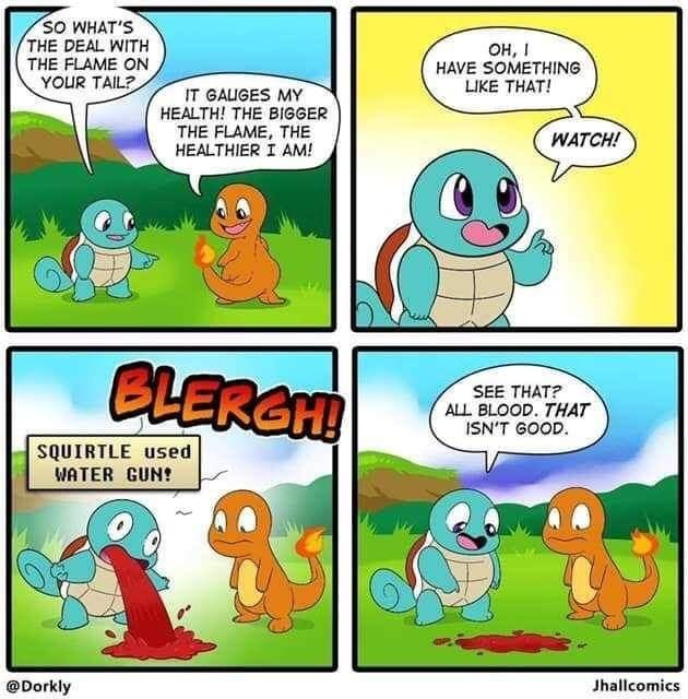 oof. .. Squirtle