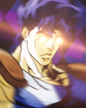 Phantom Blood but it's hastily described in gt format. that picture is probably tiny but I can't do about it on phone Anyways, hello there! I've looked at my or