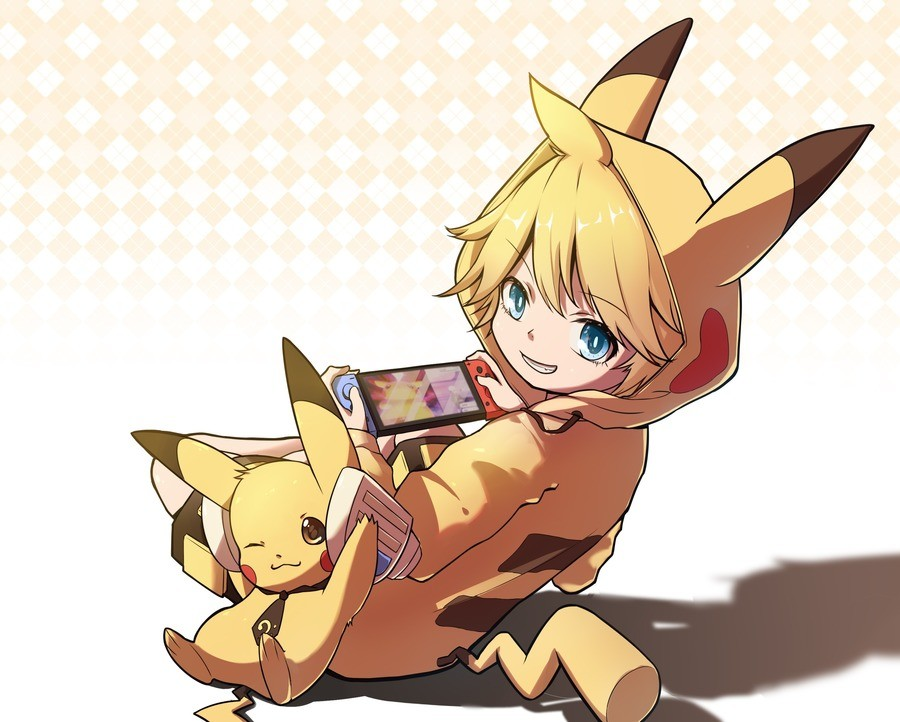 Pika Pika. Source: .. Pikaboy in a poke world~Comment edited at .