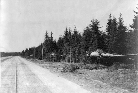 Planes taking of from the Autobahn. In 1984, the NATO held an exercise on the German Highway, known as the Autobahn, to test one of the contingency plans in cas