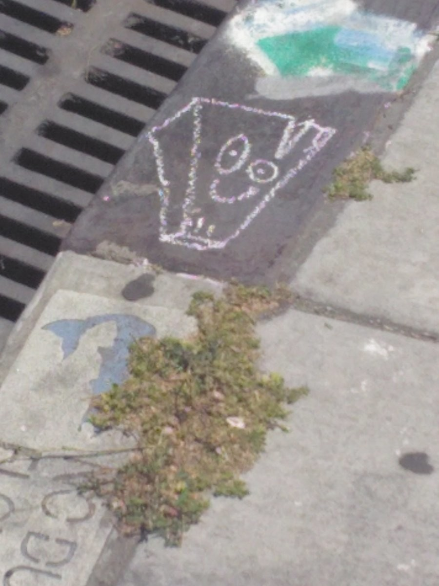 Plank. Its just Plank on the sidewalk. Saw it while walking home..