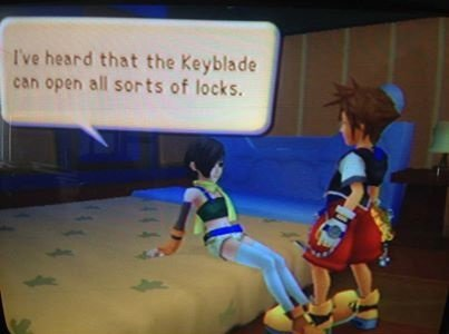 """playing kh. . he hearded-: 11: """". i just noticed the shoe size..."""
