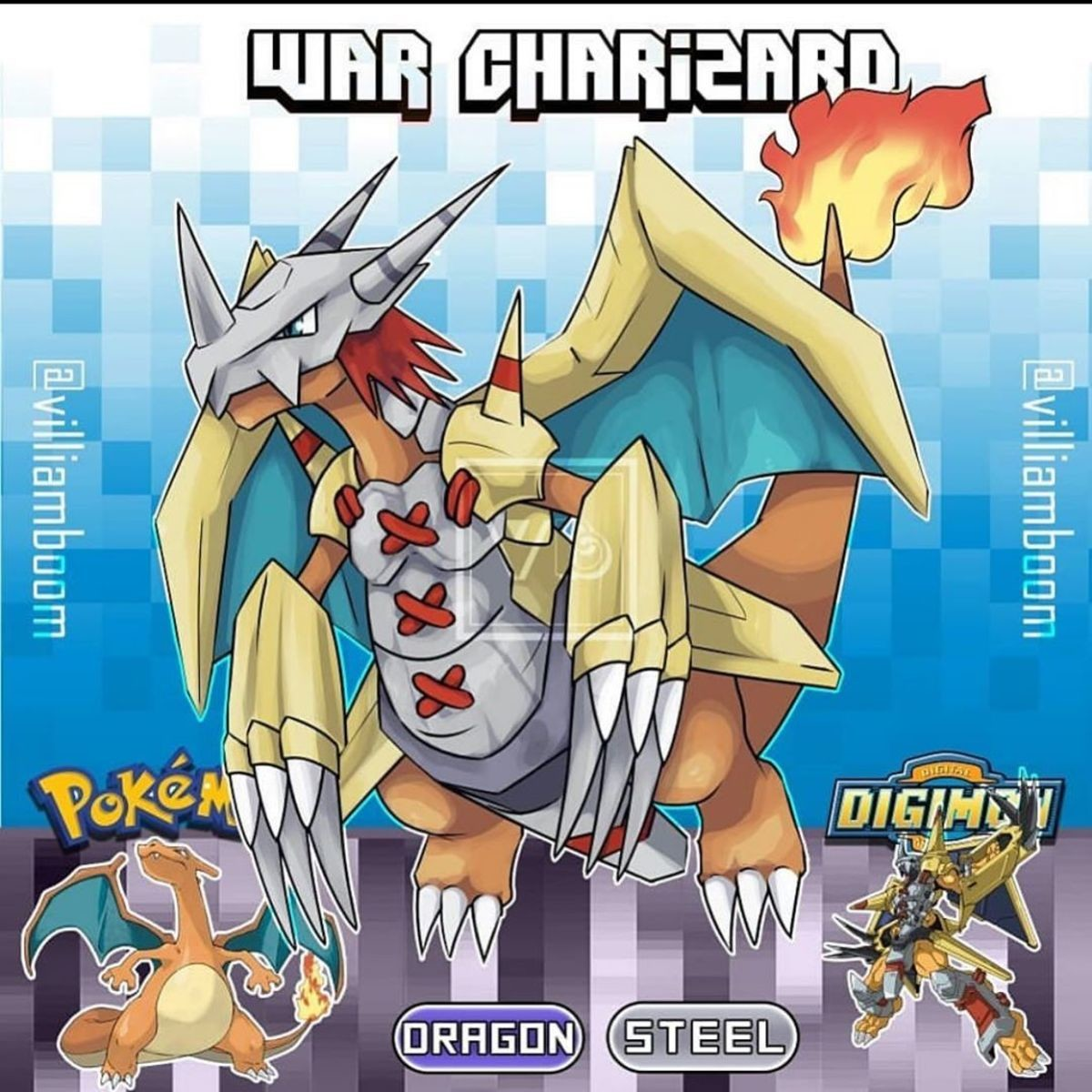 PokeDigi Fusion. .. Just what we need, another Charizard.