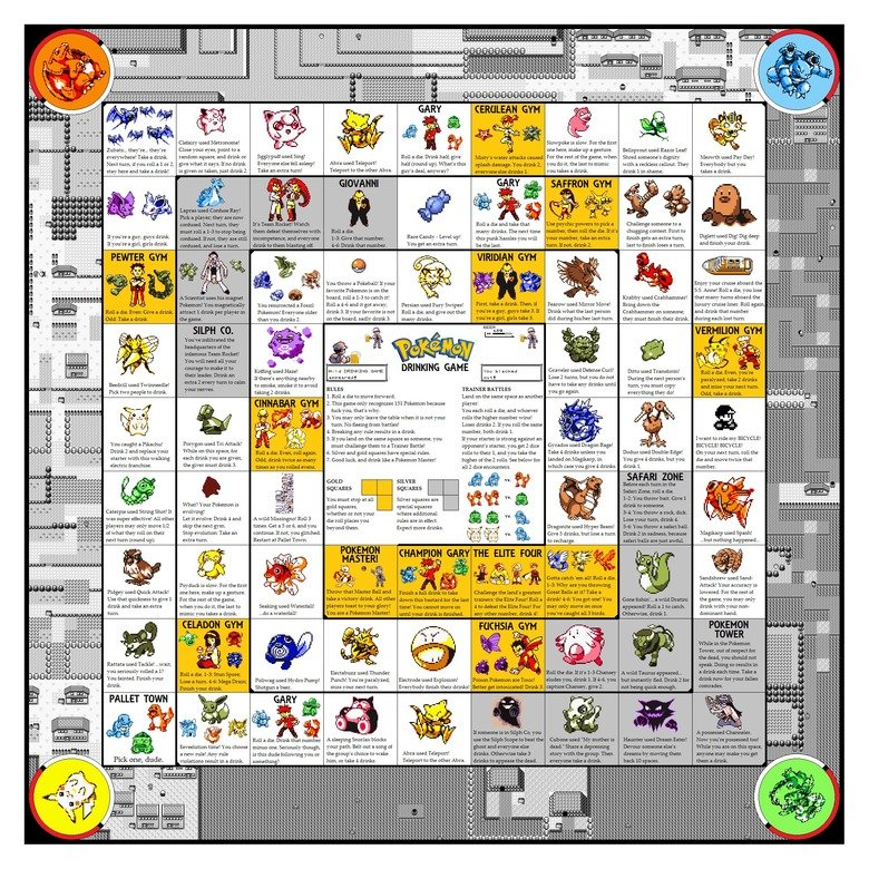 pokemon drinking board game .  who knows why I don't have a girlfriend... NOT MINE... This sounds terrible. greatness at its finest, but with a terrible ending