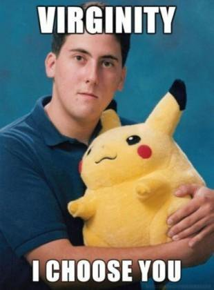 Pokemon. Dont worry i like pokemon and i couldnt resist posting it.