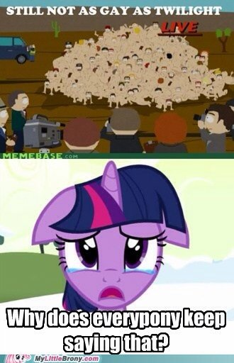Poor Twilight. . STILL NOT AS GAY AS WEIGHT