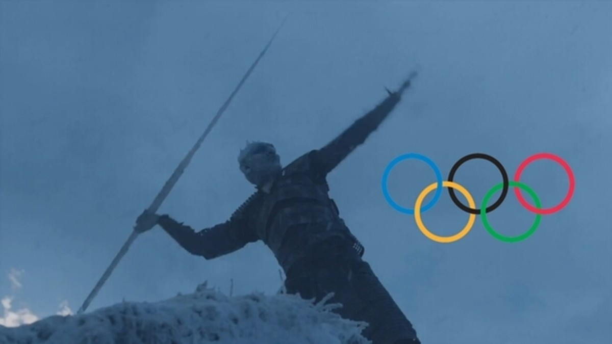 Prepare yourselves for the next olympic games. .. Huge spolier for season 7 episode 6 Can't believe they killed off the dragon. it was such that ice could pierce and kill the dragon. That and I still don't know