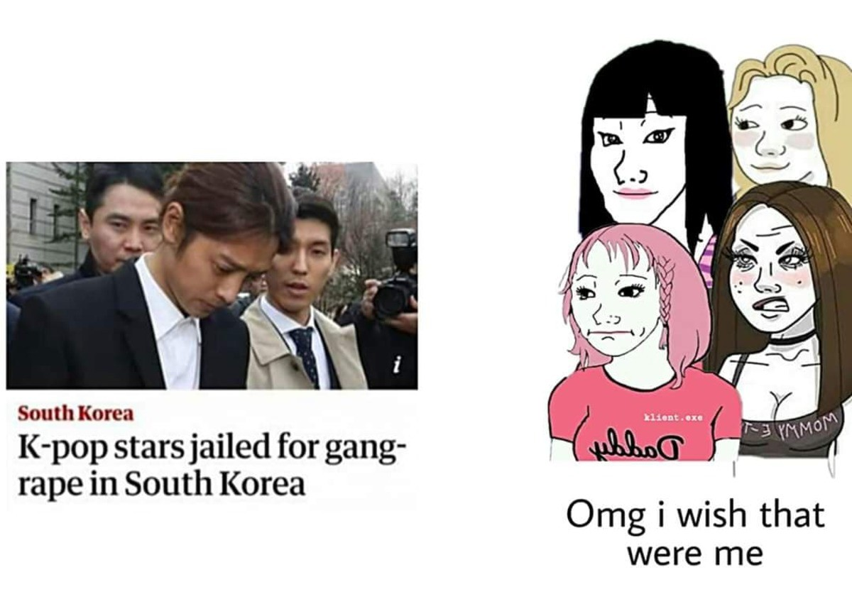Press S to spit on femoid. .. Same happened with Ted Bundy.