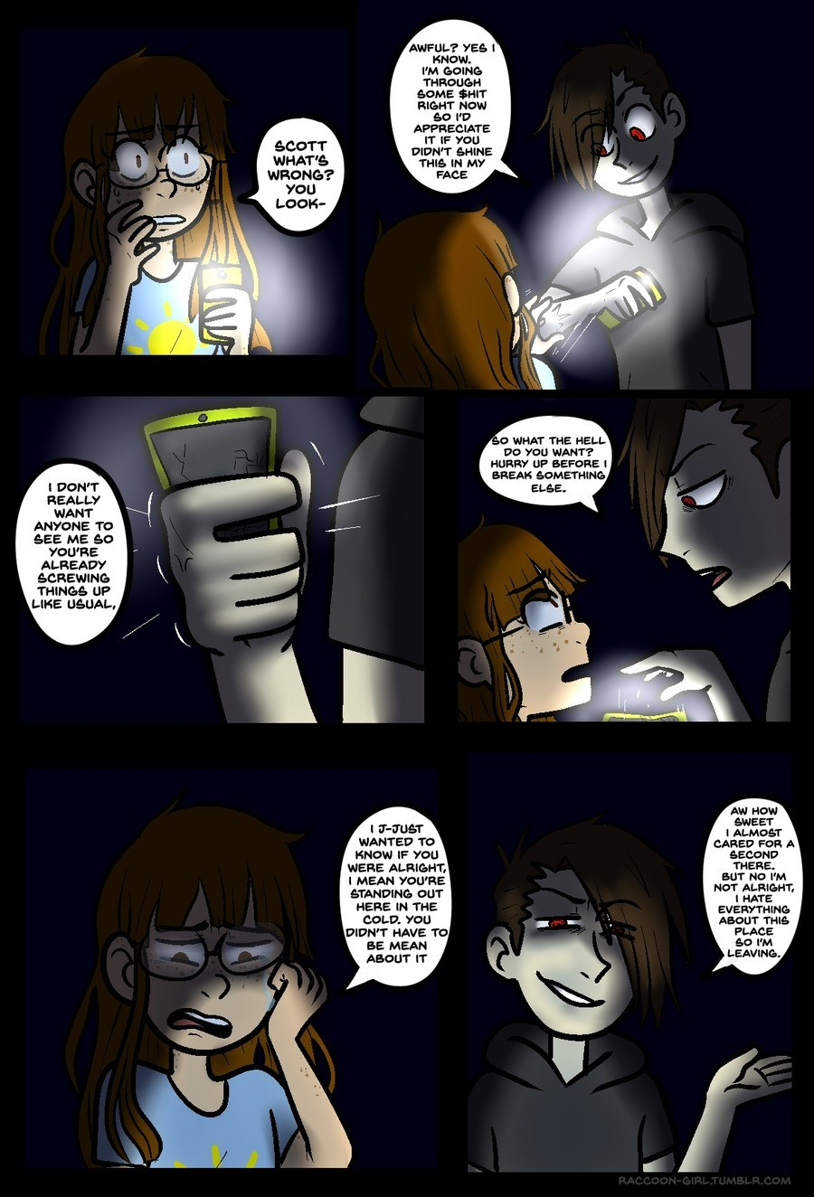 Raccoon Girl Pt5 (The Second Cliffhanger). join list: Rac00onGirl (146 subs)Mention Clicks: 750Msgs Sent: 1161Mention History. I DON' T REALLY WANT ANYONE TO SE