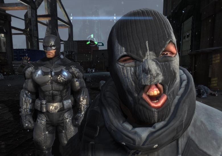 (Read Description). This is my favorite screenshot from Arkham Origins. ERHMAGEHRD ITS BERTMEN.