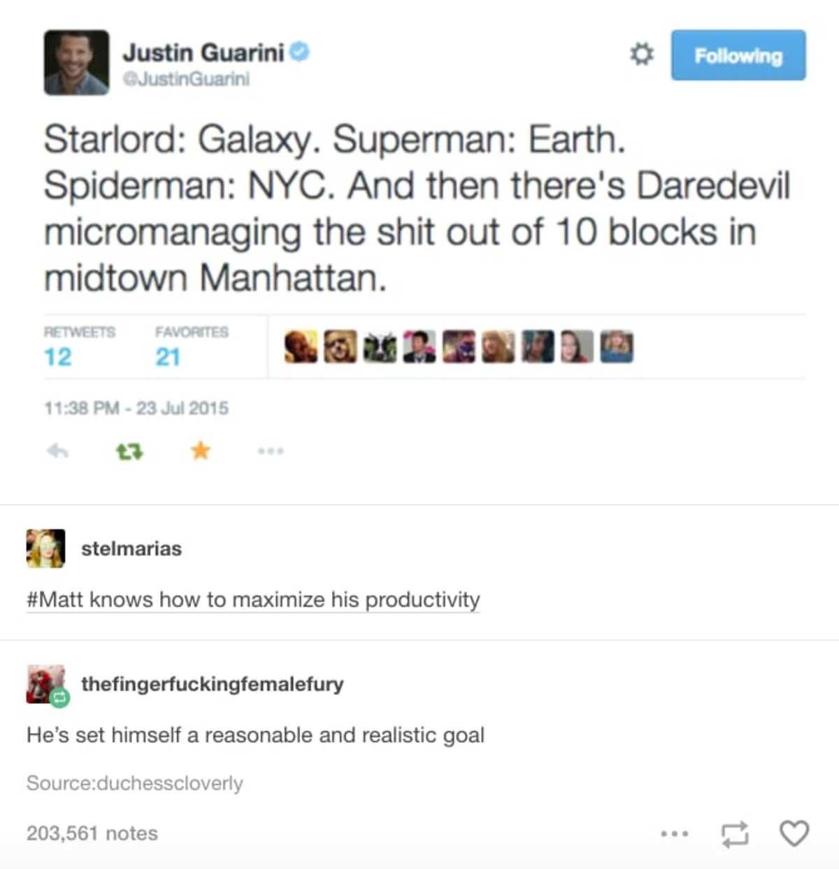 Reasonable. .. Mixing Marvel and DC..... Tsk tsk