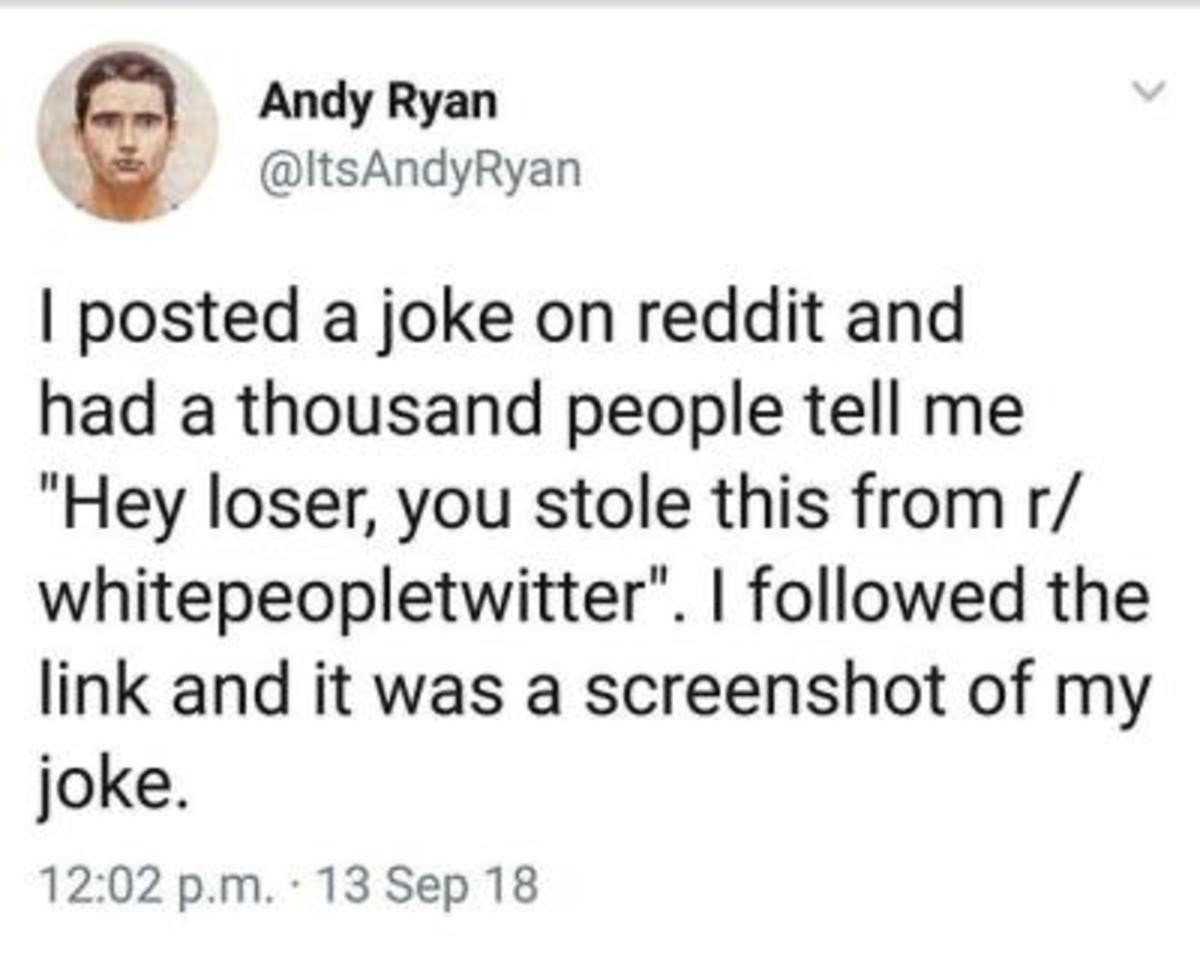 Reddit. .. Redditors are the stupid of the internet