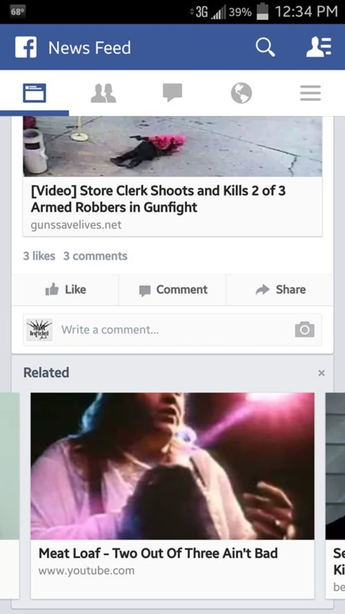 Related Videos. .. Damn Facebook your algorithms went to a dark place