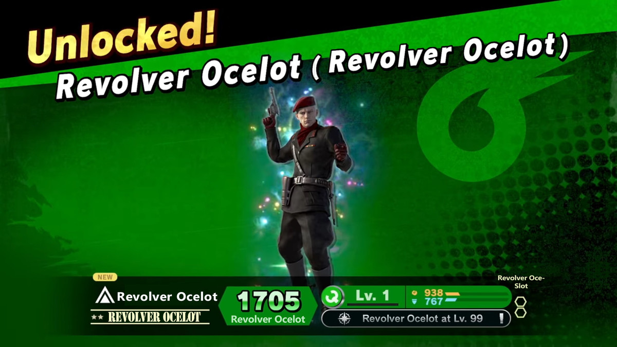 Revolver Ocelot. Revolver Ocelot I saw the new Nintendo Direct and I knew what must be done... Damn that killed me.