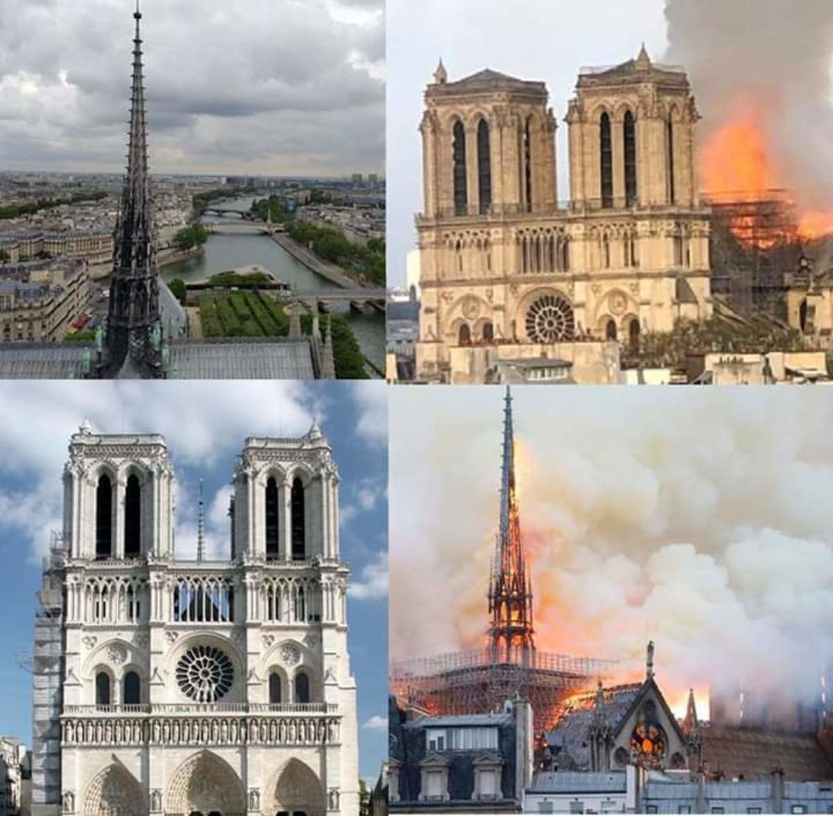 RIP Notre Dame. .. Too soon op, this was a great loss for humanity.