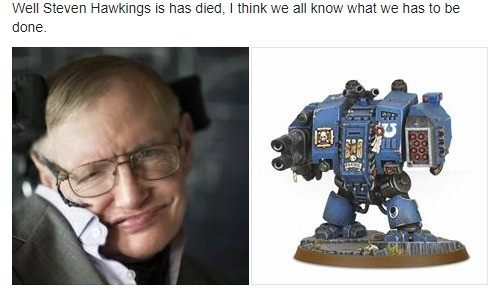 Rip the Hawkster. I should add that I found this on facebook and that I didn't write this lol. Well Steven Hellsings. is has 'intil I think: we an '.. what we h