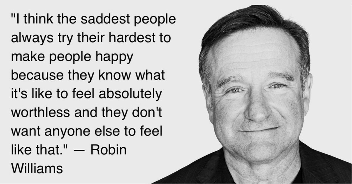 Robin Williams. Someone said in a comments thread that Robin Williams was a 'wounded healer'. I found that fascinating since he has a lot of Chiron energy in hi