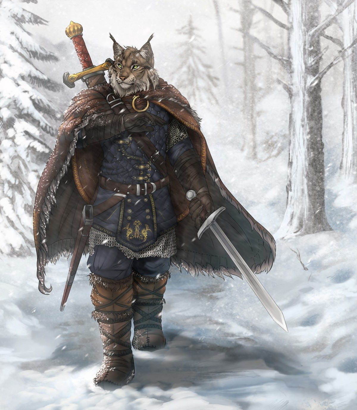 Rogueliger . Edition 94 of Furry Art You Could Show Your Friends. Today's featured artist is Rogueliger, a fantasy artist who really likes to focus