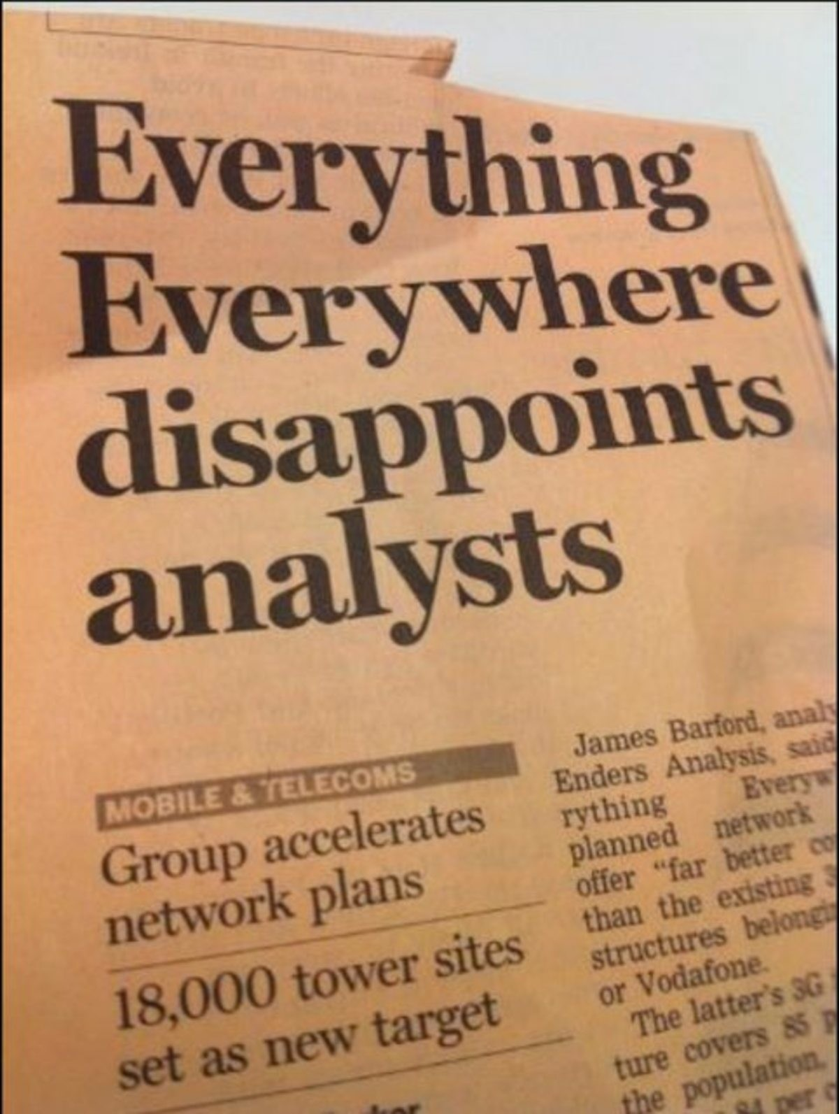 's All Messed Up. .. Everything Everywhere disappoints Everyone on the Internet