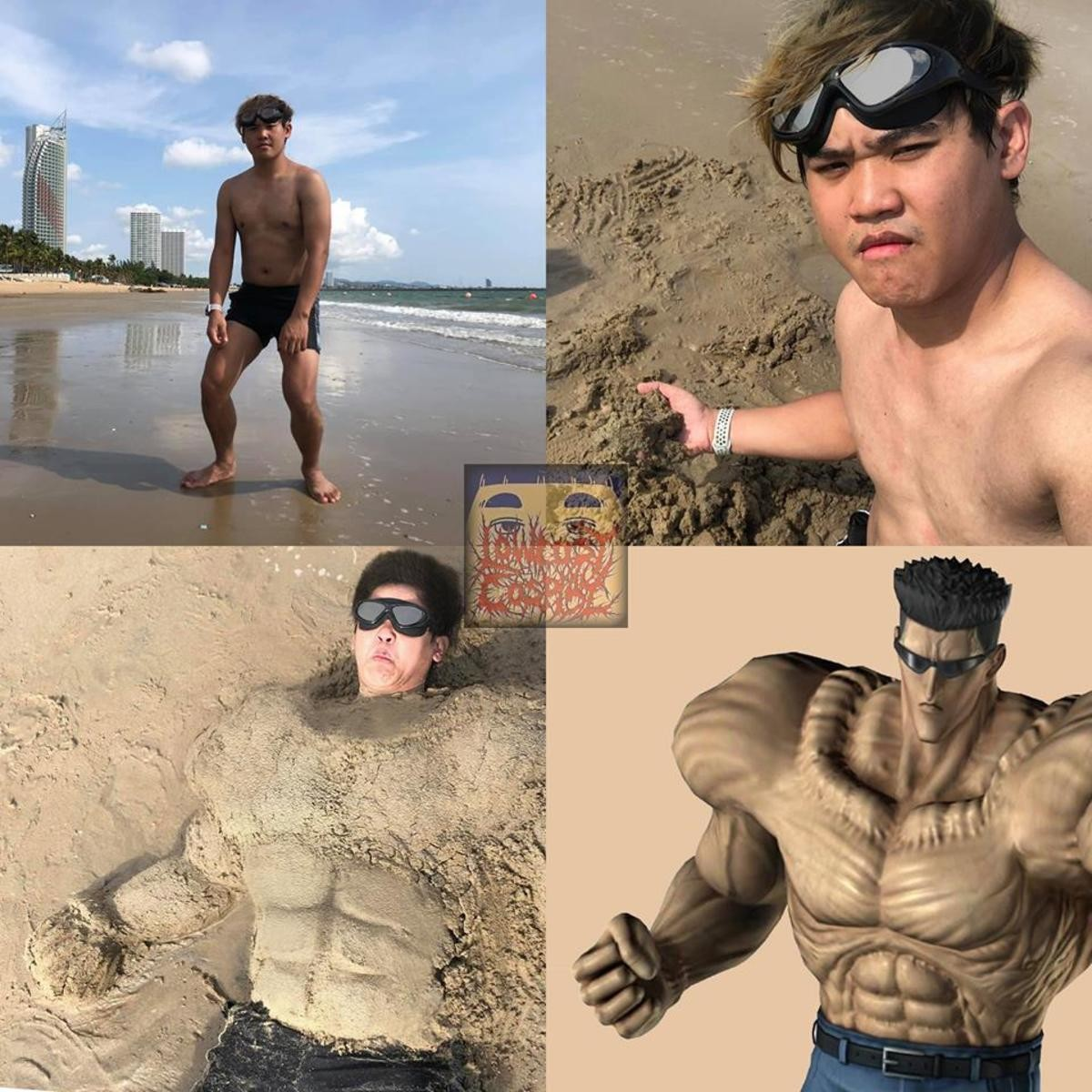 Sand cosplay. .. Ok is it just me or does he look like he has strong-ass legs?