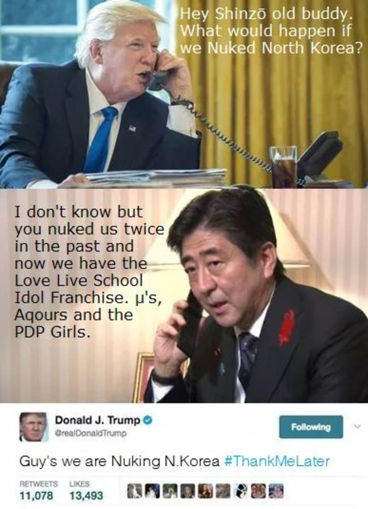 "Say No More. . Herr_ Si_ : (lid buddy. haat... :3. c) tid happen if WE M"" ed North Korea? Elliot , ""ti, twice. Please, no more idols"