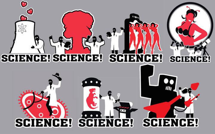 Science is awesome!. Through science anything is possible. tll
