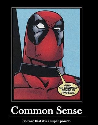 "Screw you Spidey. . Common Sense rverq that it' s 'aurther"" I? osh' crr"