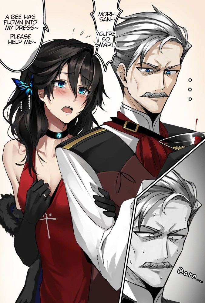 Seducing the Napoleon of Crime. Source thenapoleonofcrime/ https://www.pixiv.net/memberillust.php?mode=medium&illustid=61665602 join list: Fate (414 subs)Me