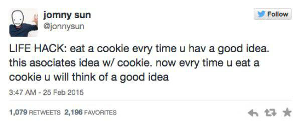 Seems legit... . LIFE HACK: at a acacia awry this u has a good idea, this assumes idea w/ sackit. nan! awry time u eat a sauna u will think as a good idea. i should diet..thats a good idea...ill have a cookie