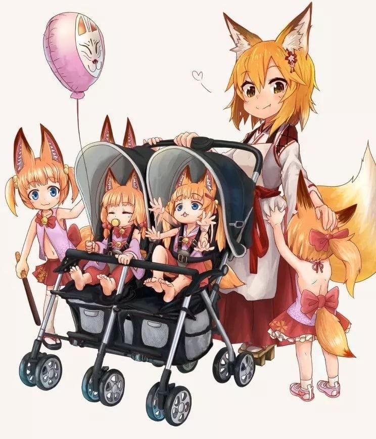 Senko family. .. Sora best girl Comment edited at .