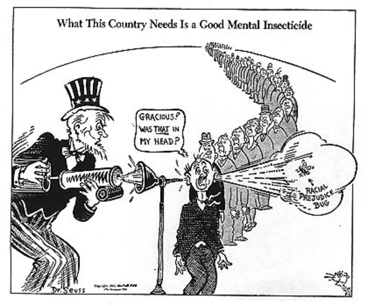Seuss Relevant Today. .. Dr Seuss despised the Japs though