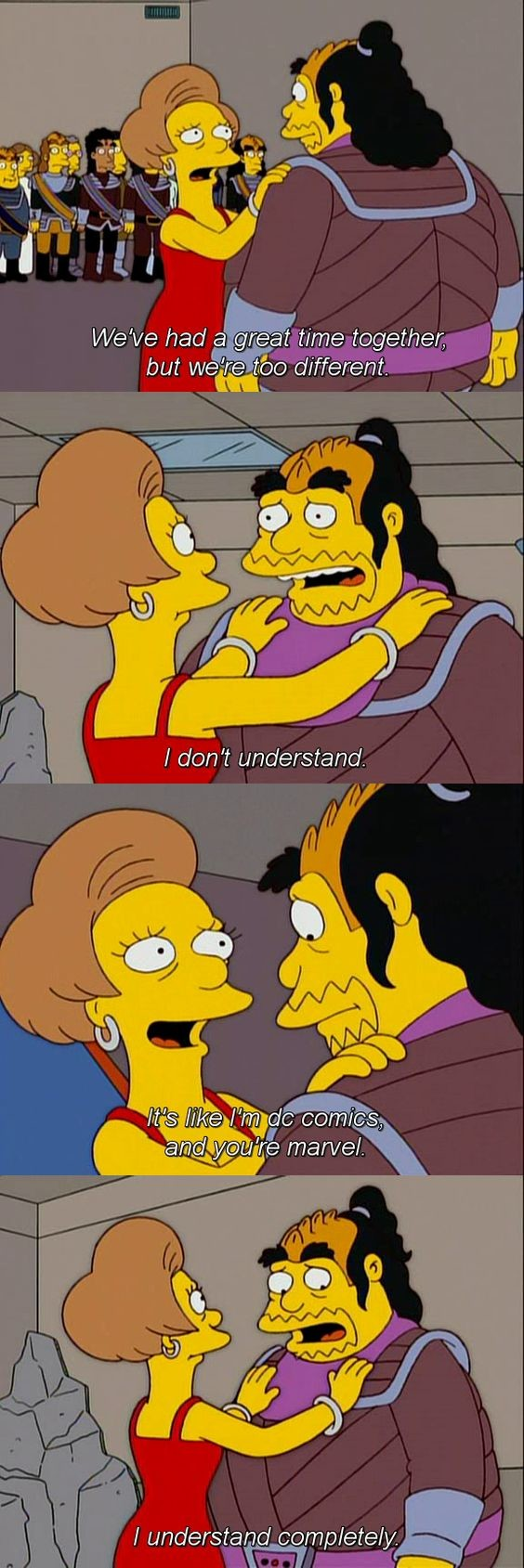 """Simpsons Mini Comp #4. join list: TheSimpsons (57 subs)Mention History. but """"ii/ iii' ift? c) different.. trump voters like"""