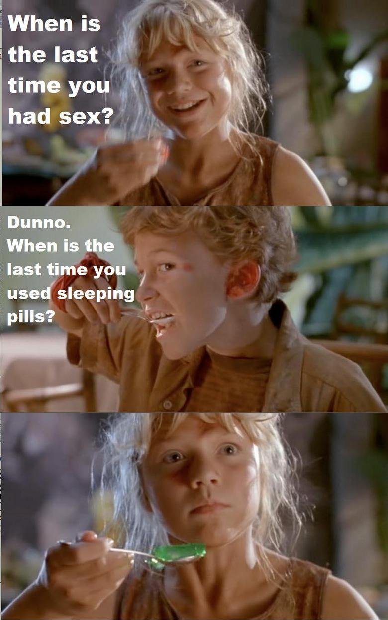 Sleeping pills. OHGAWD<br /> Disclaimer: I haven't seen this before, and therefore don't know if its a repost. If it is, please let me know. Unless its th