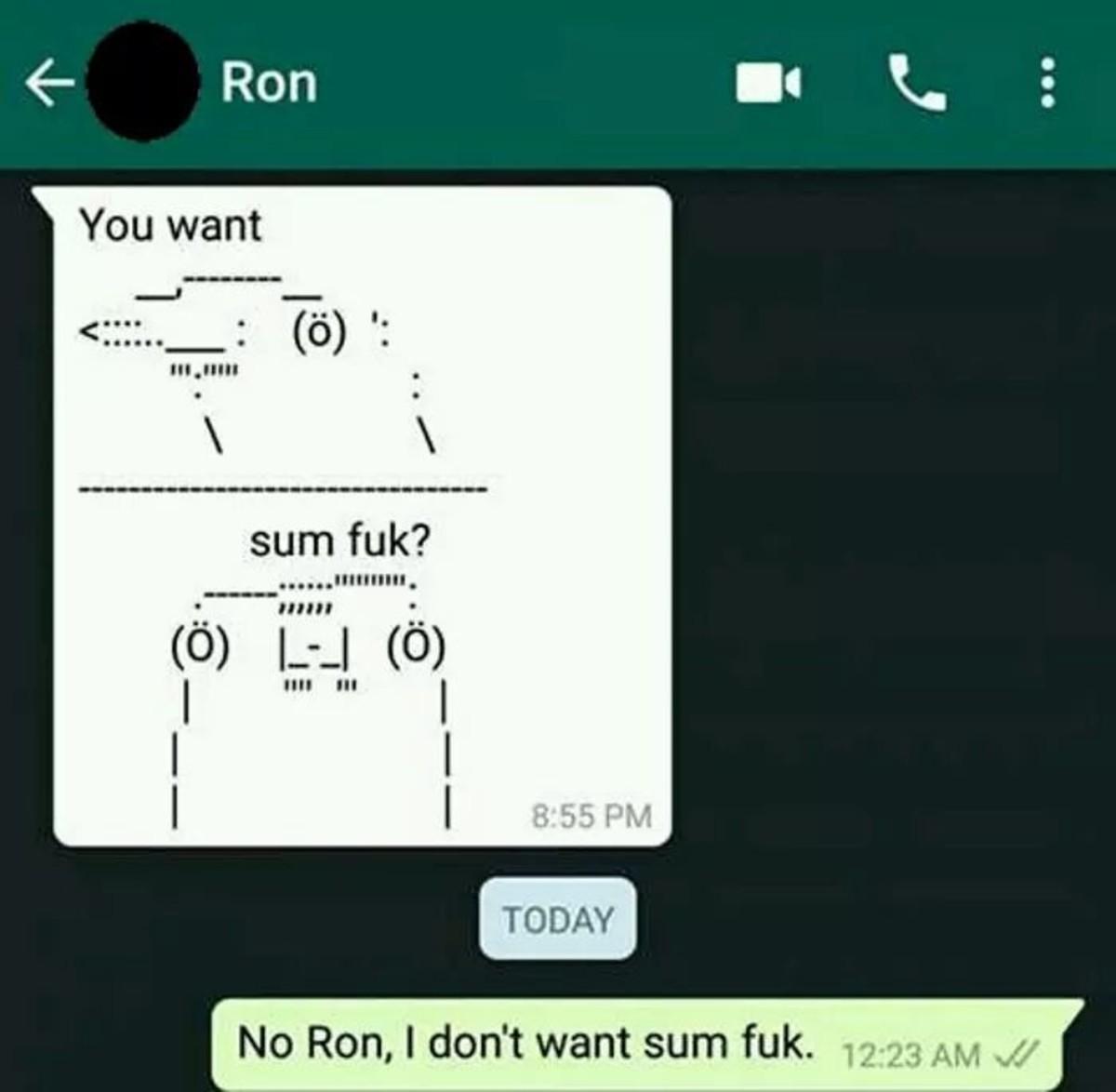 Smash. .. Ben is a hoe