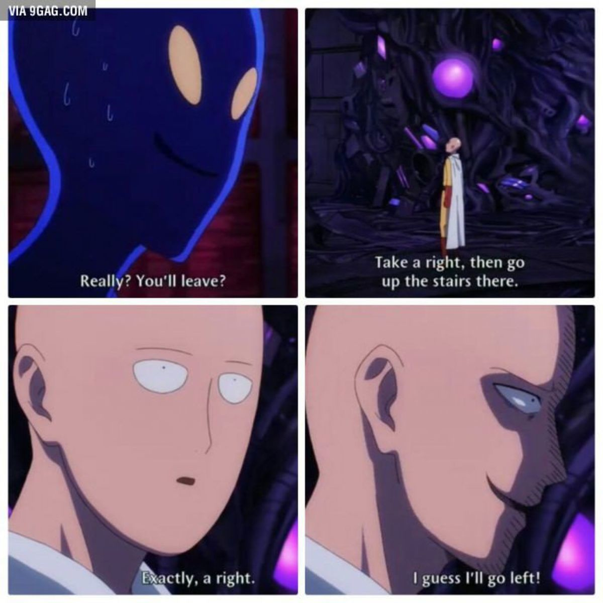 Sneaky Saitama. .. One punch man season one was a magnum opus of anime