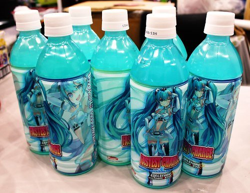Some-what want. im not that much of a fan for Miku but what the heck... If that is Miku-flavored soda...
