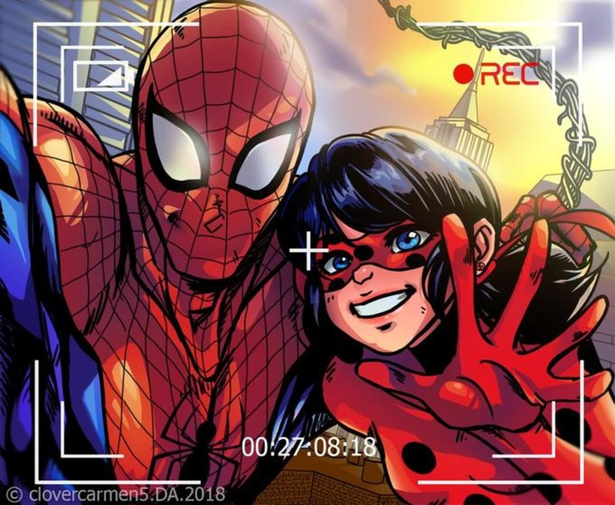 Spider-man. join list: Edderkoppen (60 subs)Mention History.. I'm a simple man, I see Miraculous Ladybug, I press like