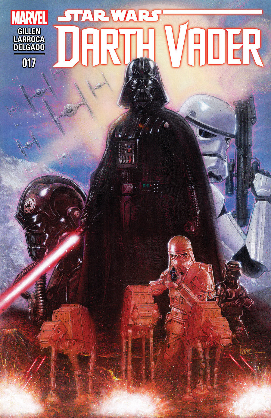 Star Wars Darth Vader issue 17. More Darth Vader, the second part of the third story arc Click the links for the first 3 issues of this comic, and the mentions