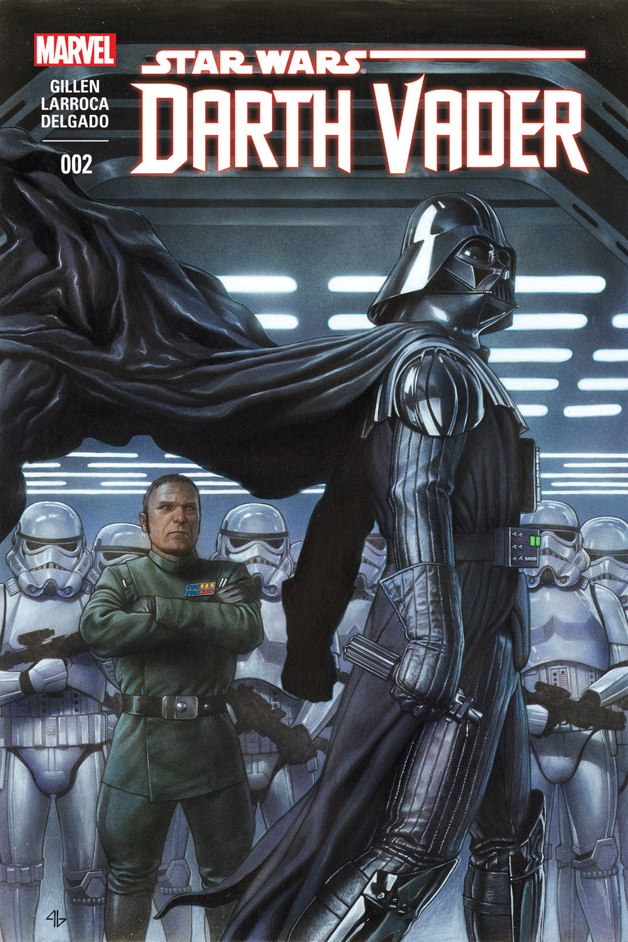 Star Wars Darth Vader issue 2. join list: StarWarsDarthVader (283 subs)Mention History Second issue of the canon Darth Vader comic Also, if you like these comic