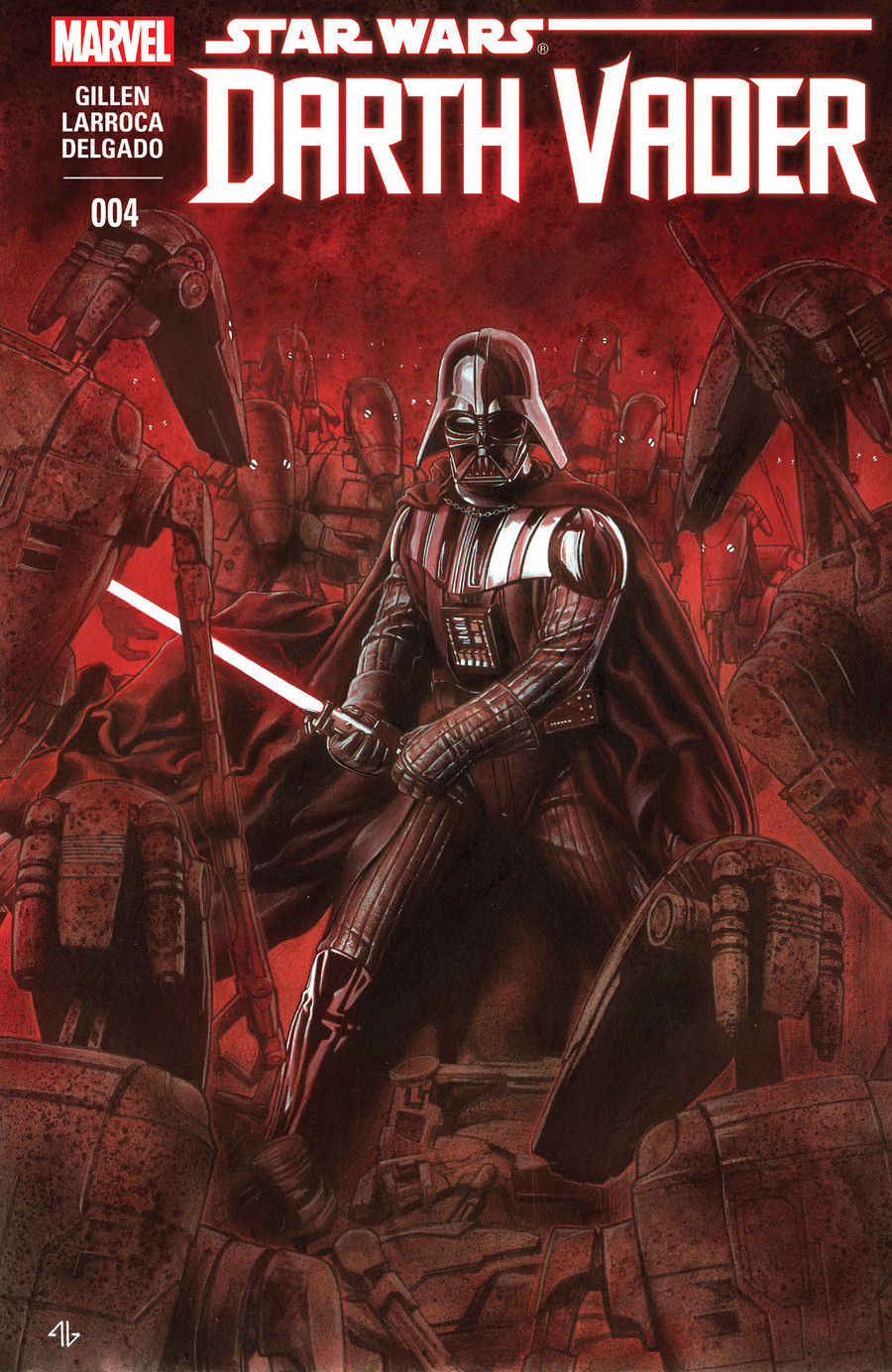 Star Wars Darth Vader issue 4. join list: StarWarsDarthVader (284 subs)Mention History This is the fourth issue of the canon darth vader comic series. Like the