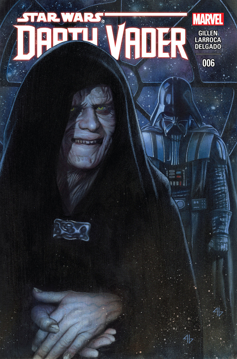 Star Wars Darth Vader issue 6. This is the 6th issue of the canon Darth Vader comic If you havent read the first 3 issues of this comic, and since i wasnt sure