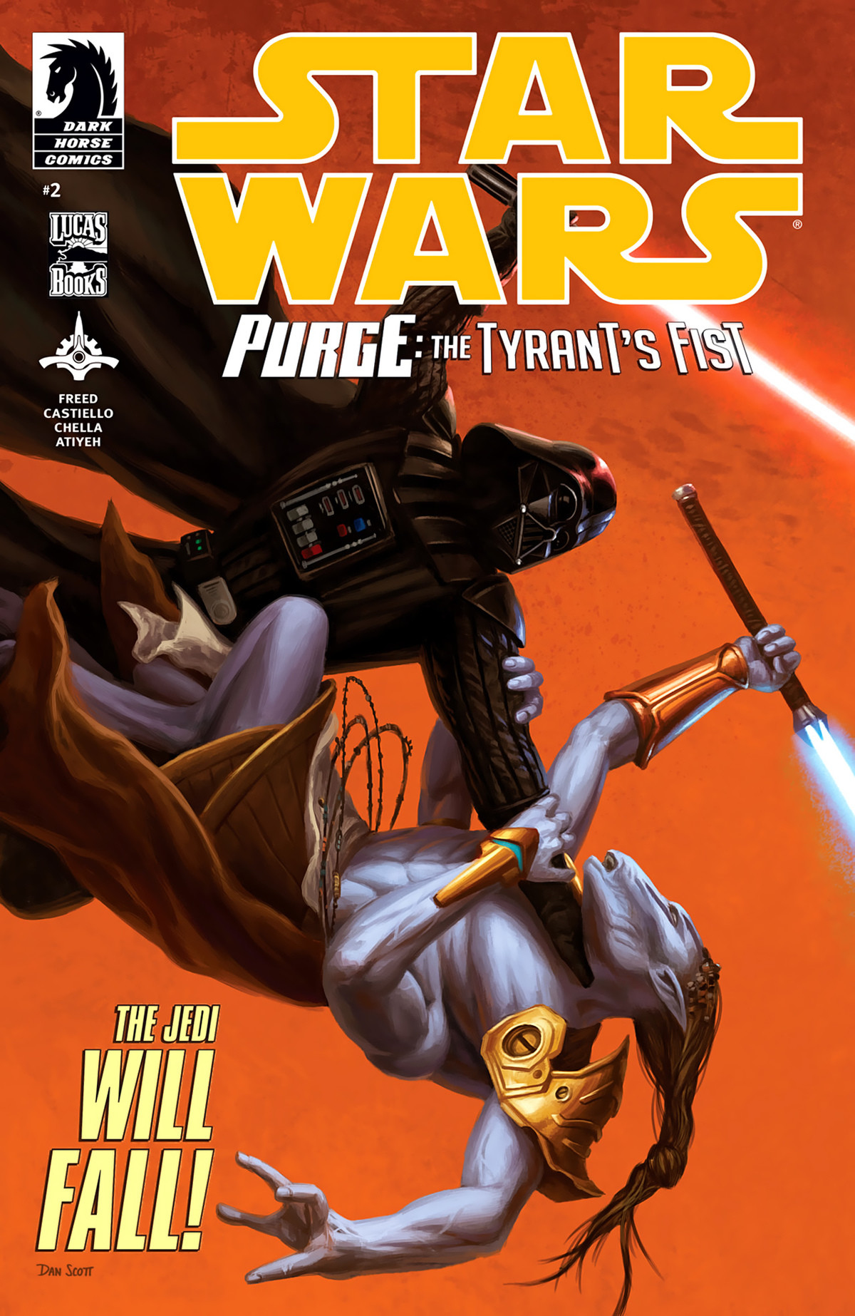 Star Wars : Purge - The Tyrant's Fist (2012) #2. .