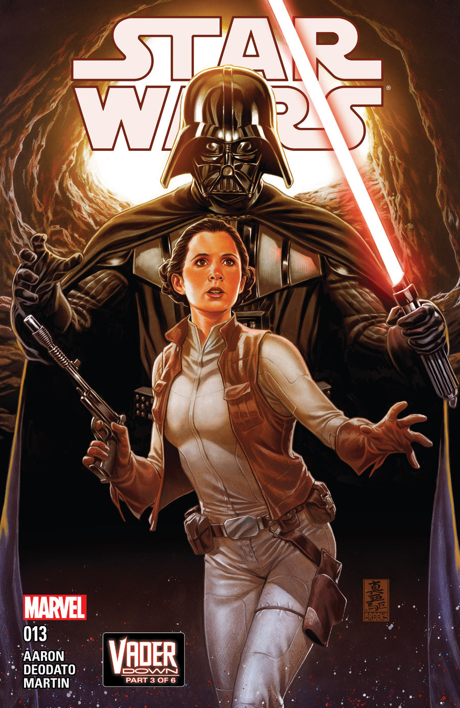 Star Wars Vader Down part 3. Its time for Vader Down, part 3. Issue 13 of the Marvel Star Wars comic series. For all previous issues of this comic, click these