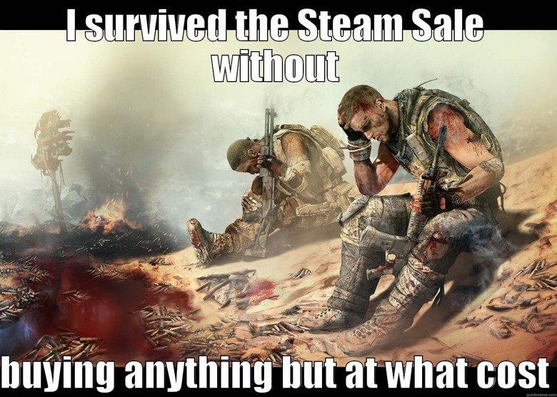 Steam Sale Survivor