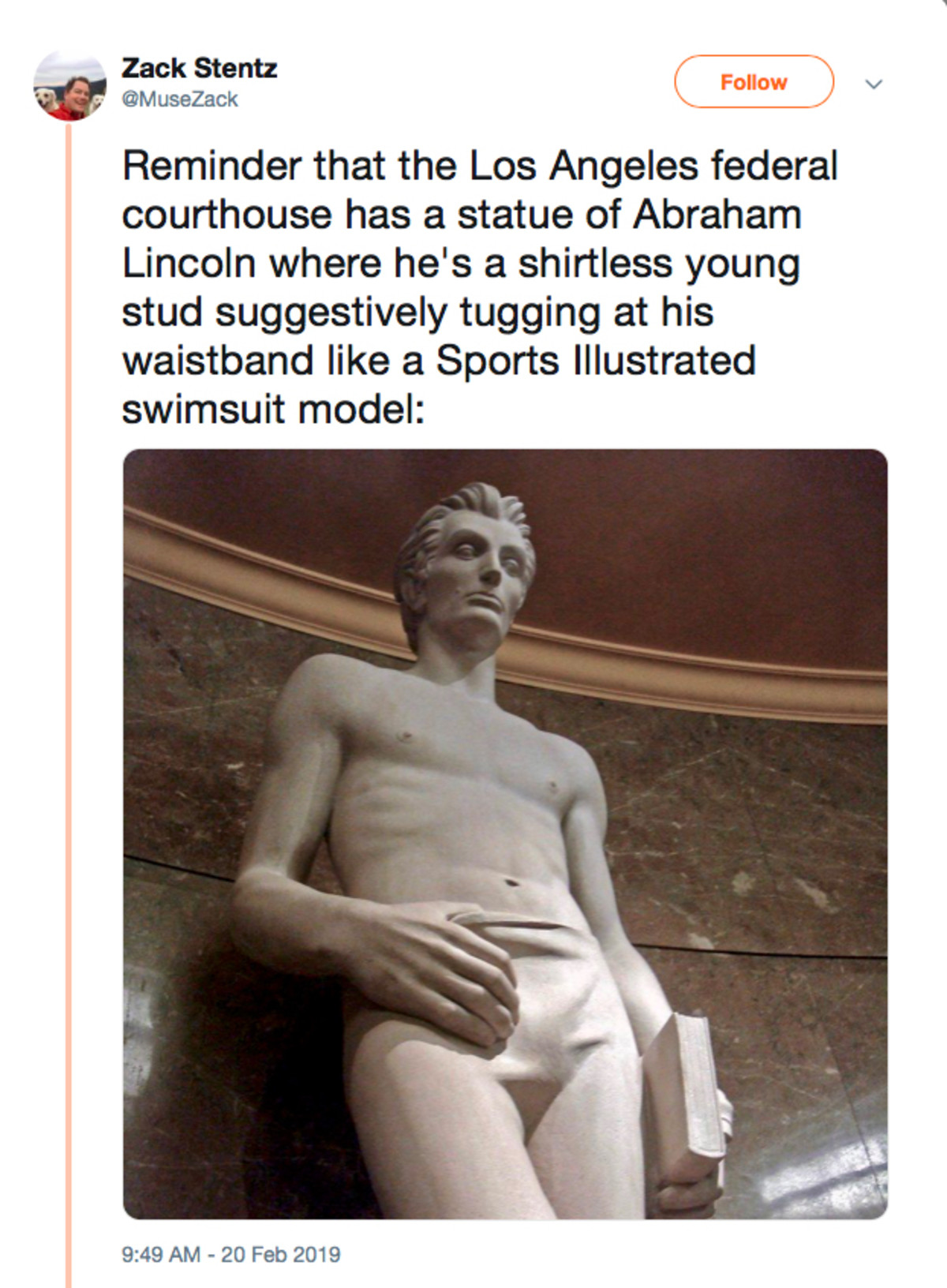 Stupid Sexy Abe. .. Damn no wonder he got elected