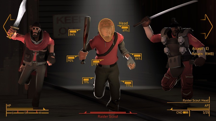 Team Fallout: New Hats. .. you laugh but this is basically the crit system for TF2